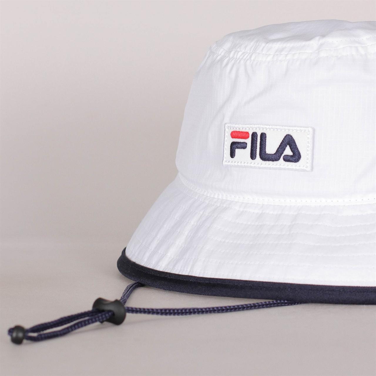 5cd8fe265498e9 Shelta - Fila Sail Bucket Hat White (686022-M67)