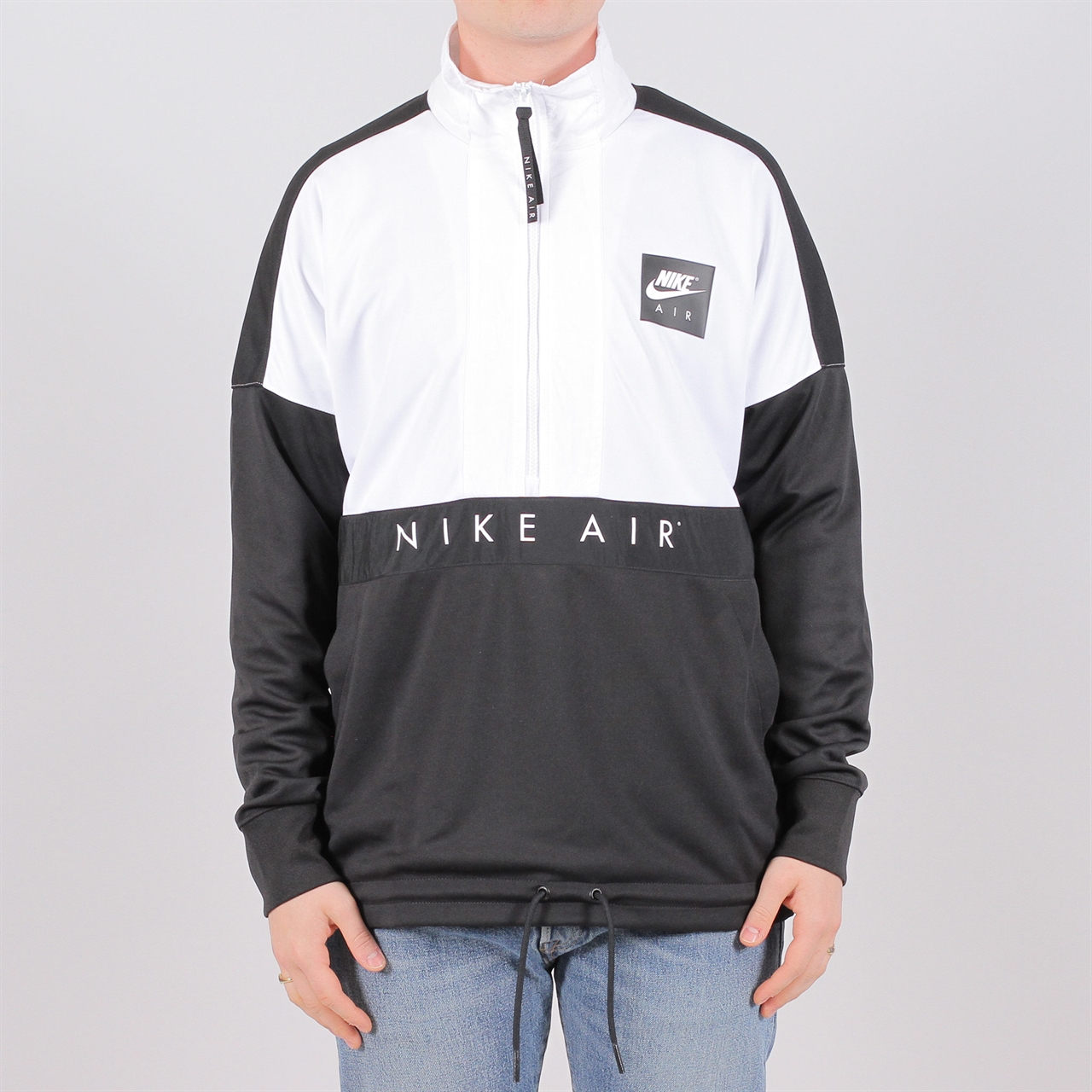 new concept c59ab 0448c nike sportswear air half zip 918324 100