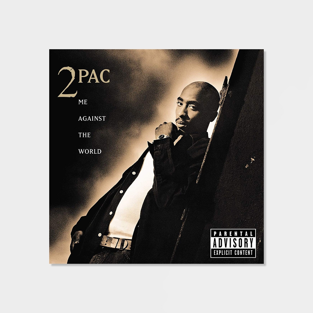 2 Pac Me Agains The World 2-LP Vinyl (Y82496) kopiera
