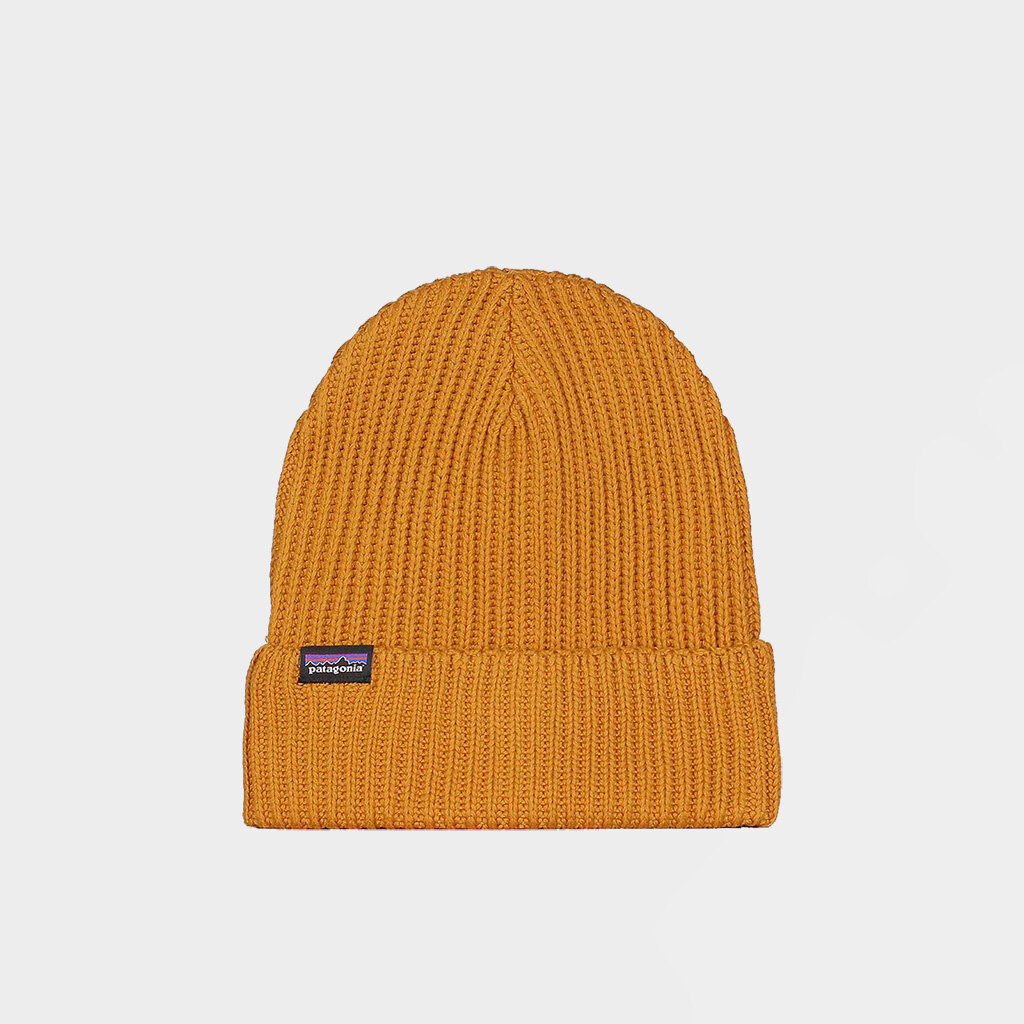 Patagonia Fishermans Rolled Beanie Yellow (29105-BKWG)