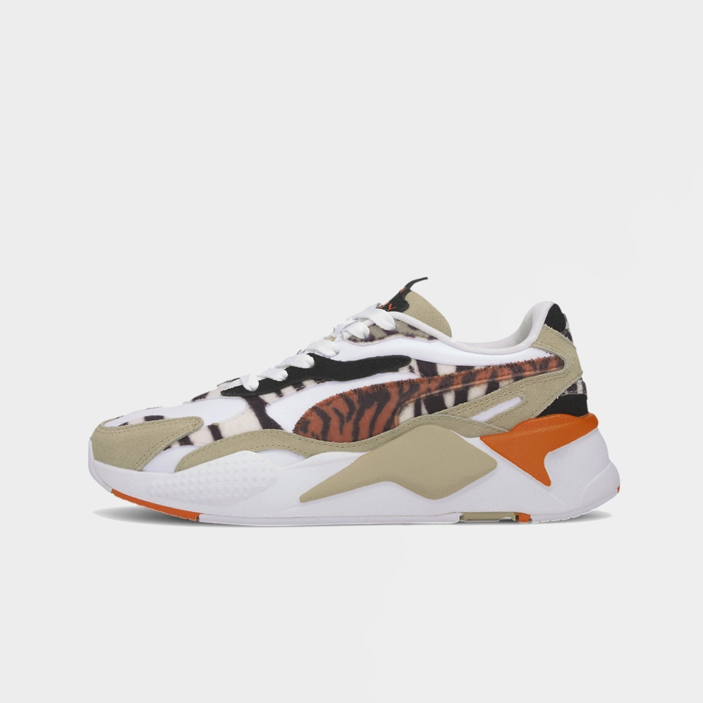 Puma Womens RS-X3 Wild Cats Pale Khaki (373953-01)