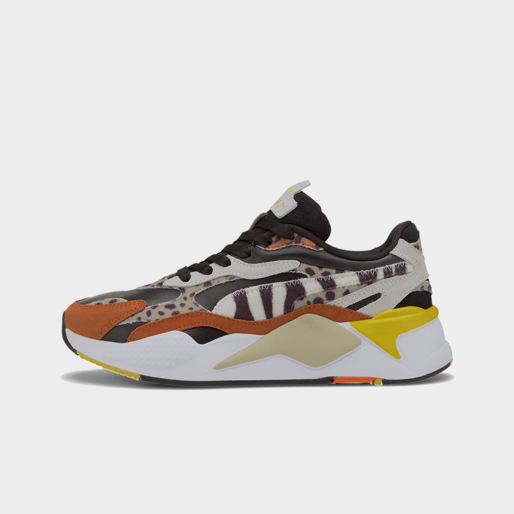 Puma Womens RS-X3 Wild Cats Black Rust (373953-02)