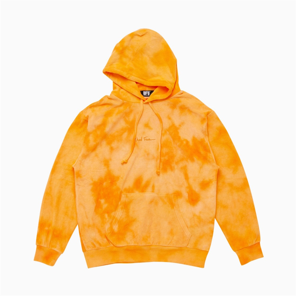 Used Future Juicy Tie Dye Hoodie Orange (HD101-ORG)