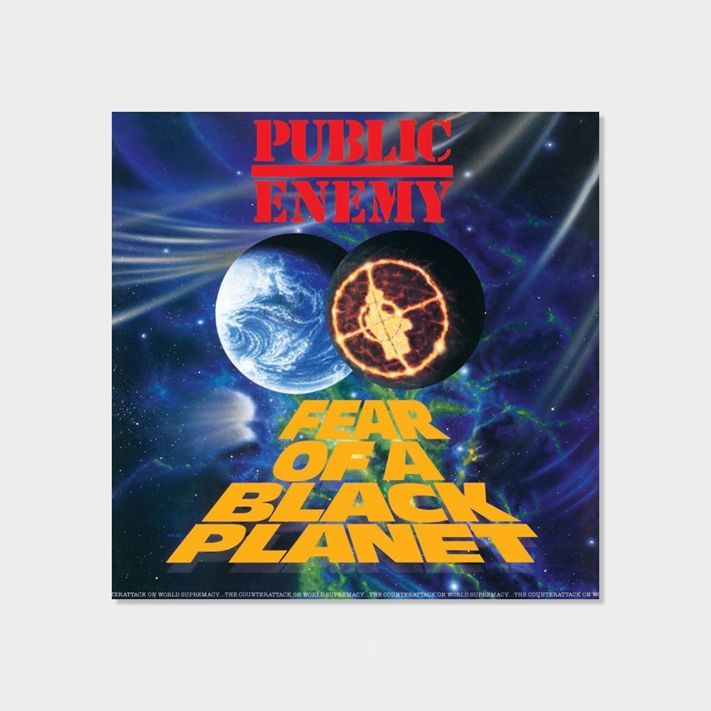 Public Enemy Fear Of A Black Planet 180 gram LP Vinyl (S28082)