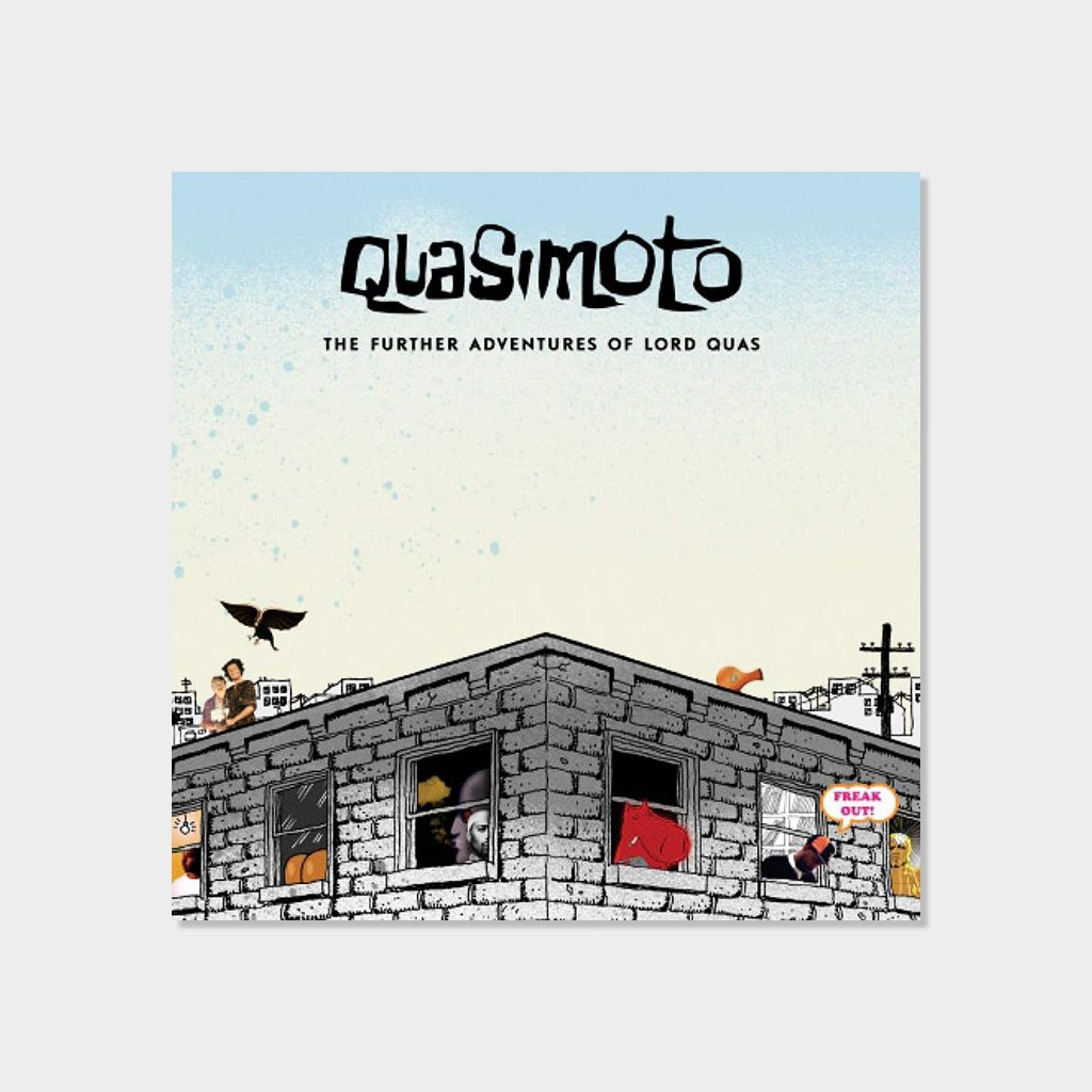 Quasimoto Further Adventures of Lord Quasimoto 2-LP Vinyl (D86413)