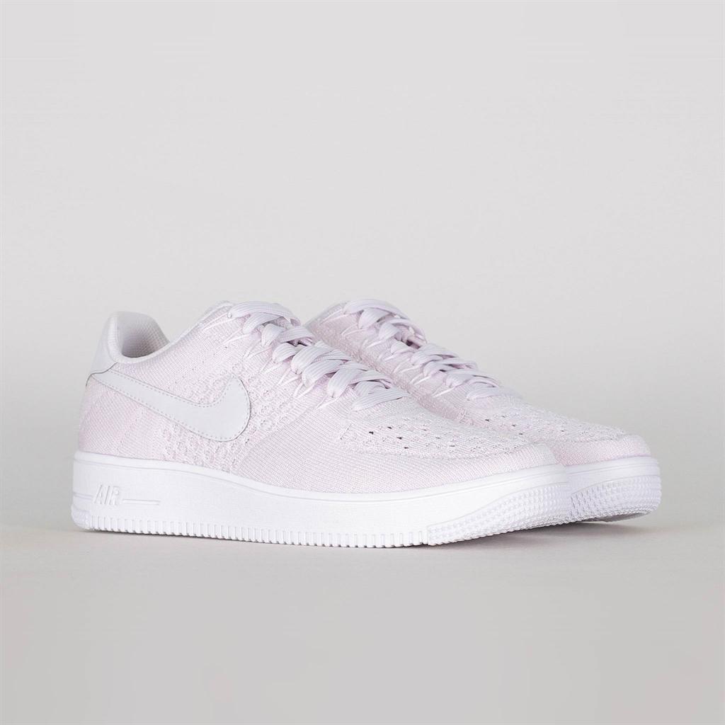 Nike Air Force 1 Flyknit Low   Gul   Sneakers   817419 701