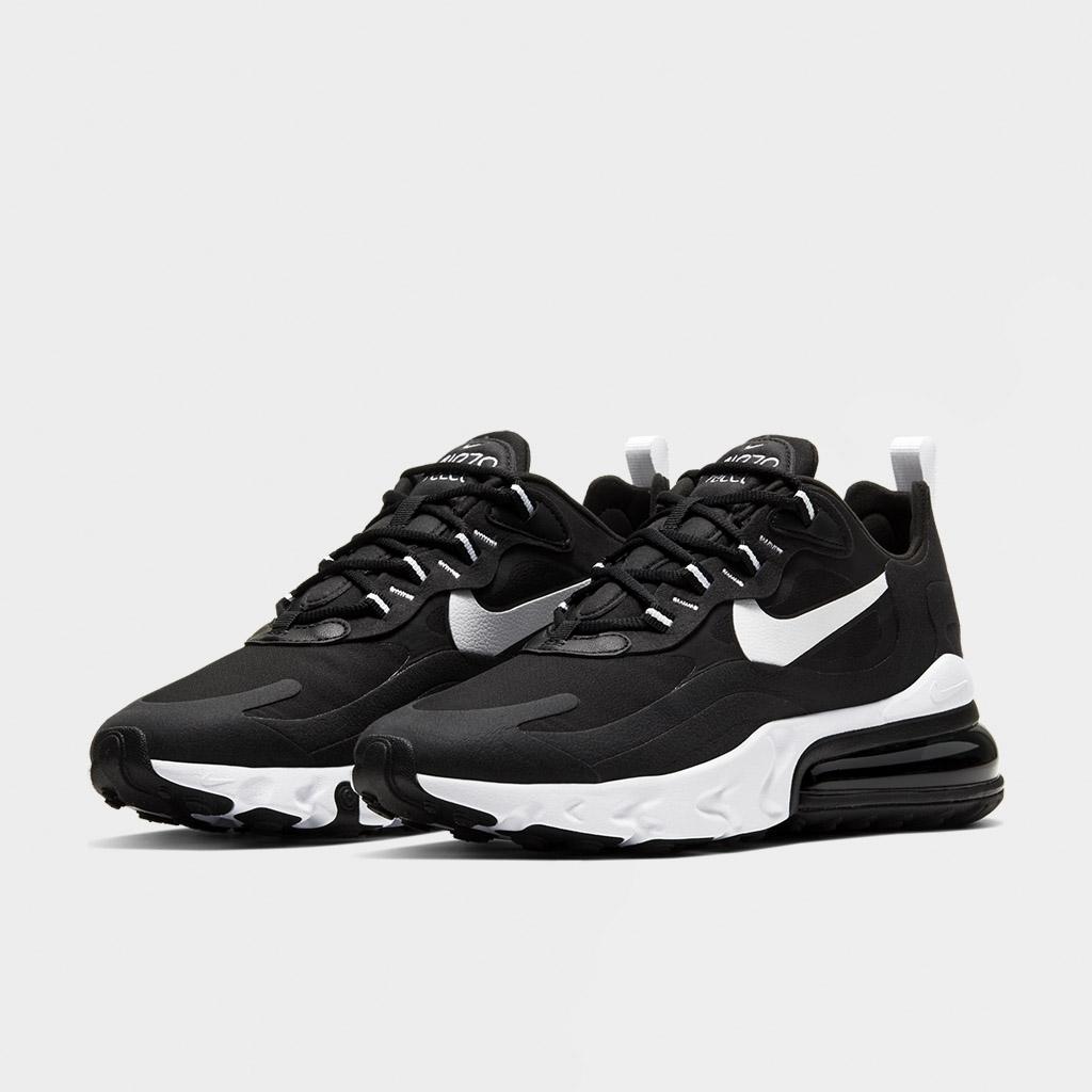 Nike Womens Air Max 270 React BlackWhite (CI3899 002)