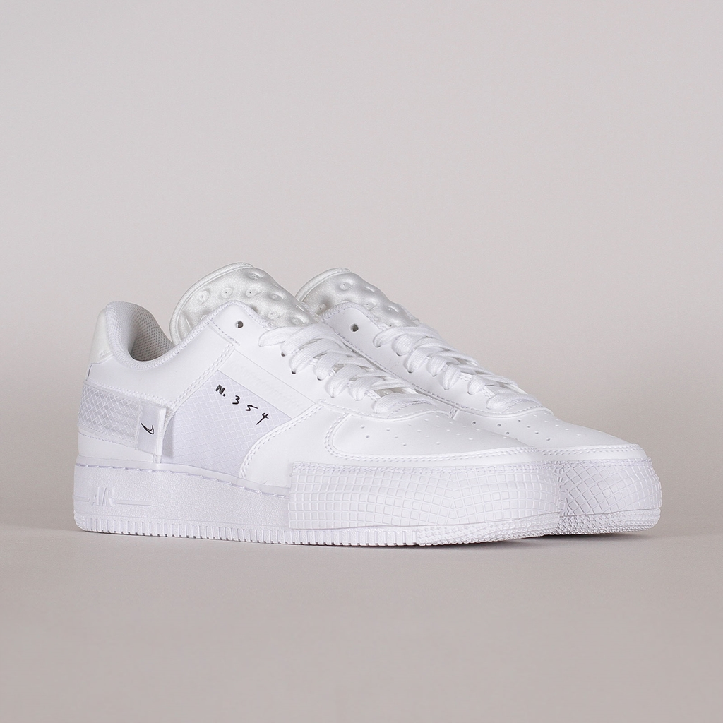 Nike Air Force 1 Type White (CQ2344 101)