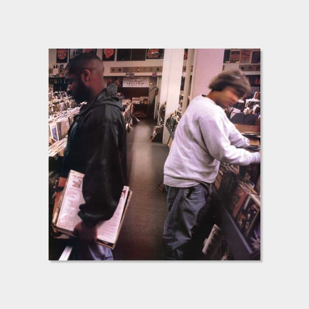 DJ Shadow Endtroducing Limited Edition 180gr 2-LP Vinyl (K62306) kopiera