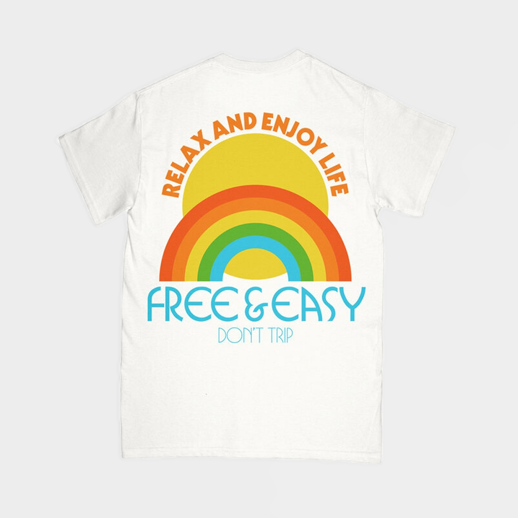 Free & Easy Relax Pocket Tee Coconut (FE-RT-CO)