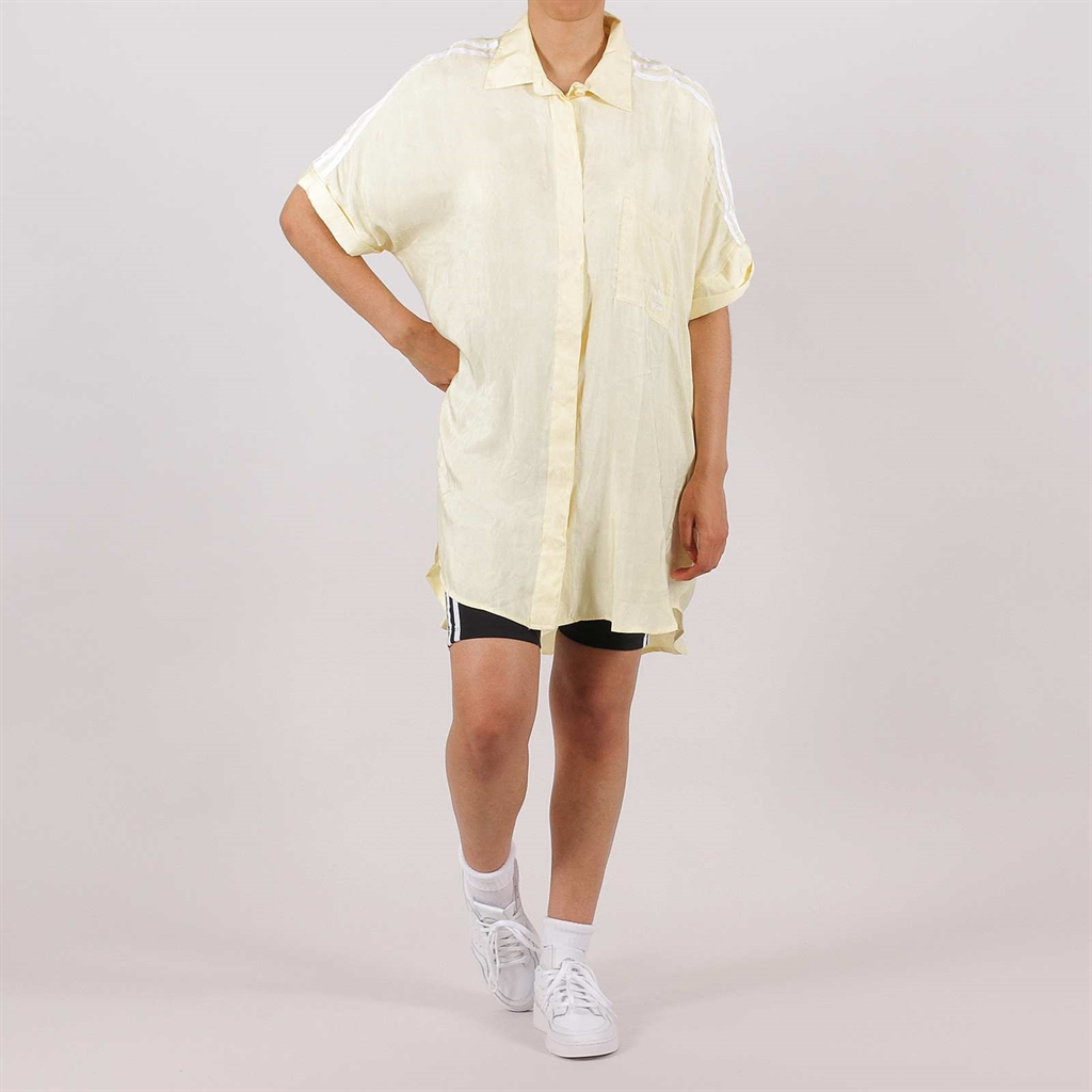 Adidas Originals Womens Satin Dress Yellow (FM2635)