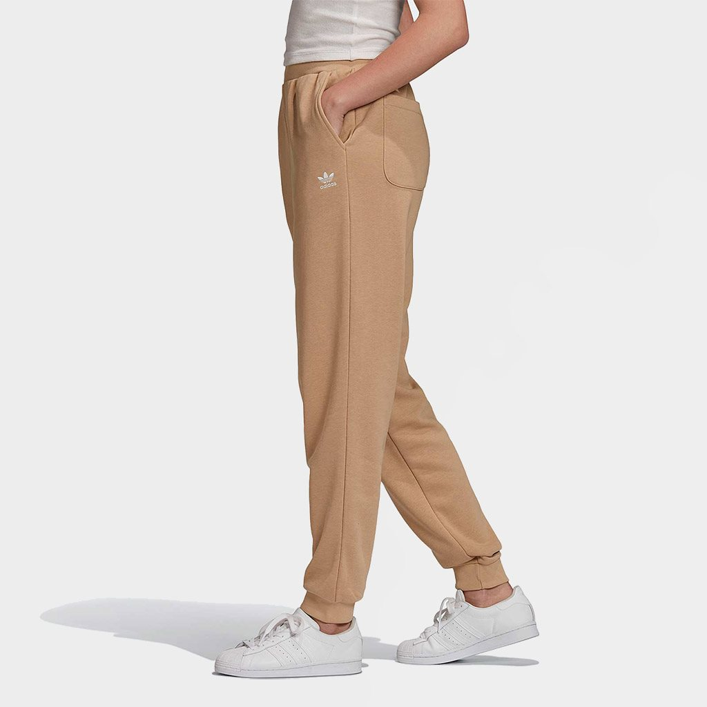 Adidas Originals Womens Essential Cuffed Pants Khaki (GD4288)