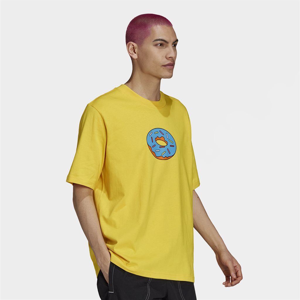 Adidas Originals X Simpsons Do Tee Yellow (HA5818)
