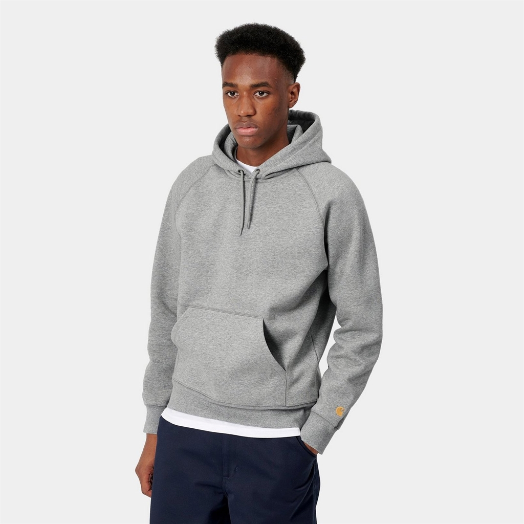 Carhartt WIP Hooded Chase Sweat Grey (I026384-94)
