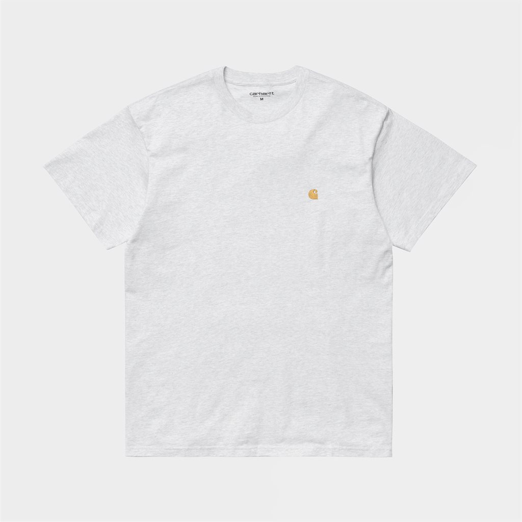 Carhartt WIP Chase Shortsleeve T-Shirt Ash Heather (I026391-482)