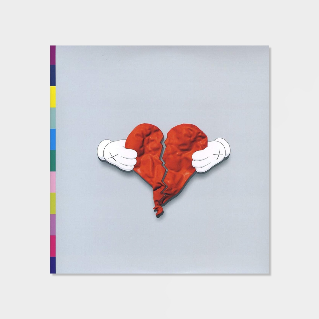 Kanye West 808s & Heartbreaks 2-LP 1-CD Vinyl (E95694) kopiera