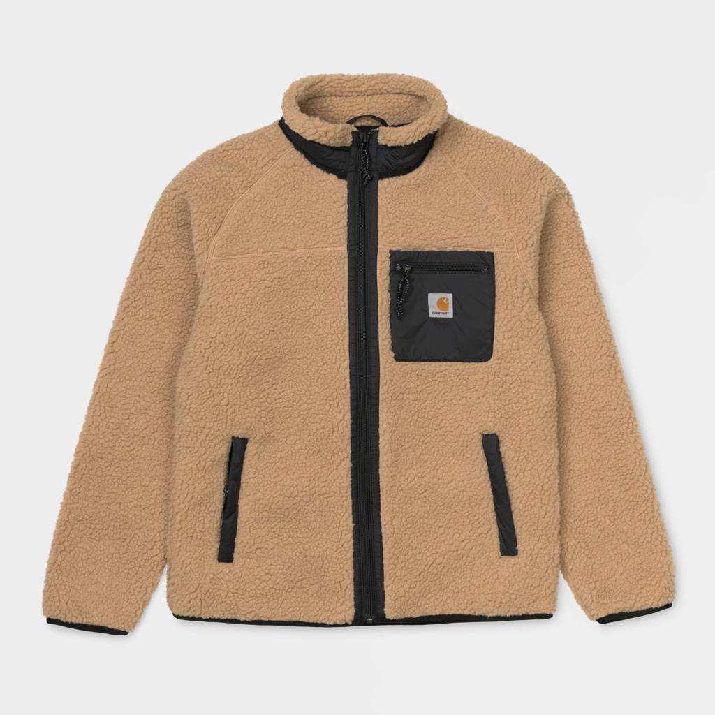 Carhartt WIP Prentis Liner Fleece Jacket Brown (25120-HBR)