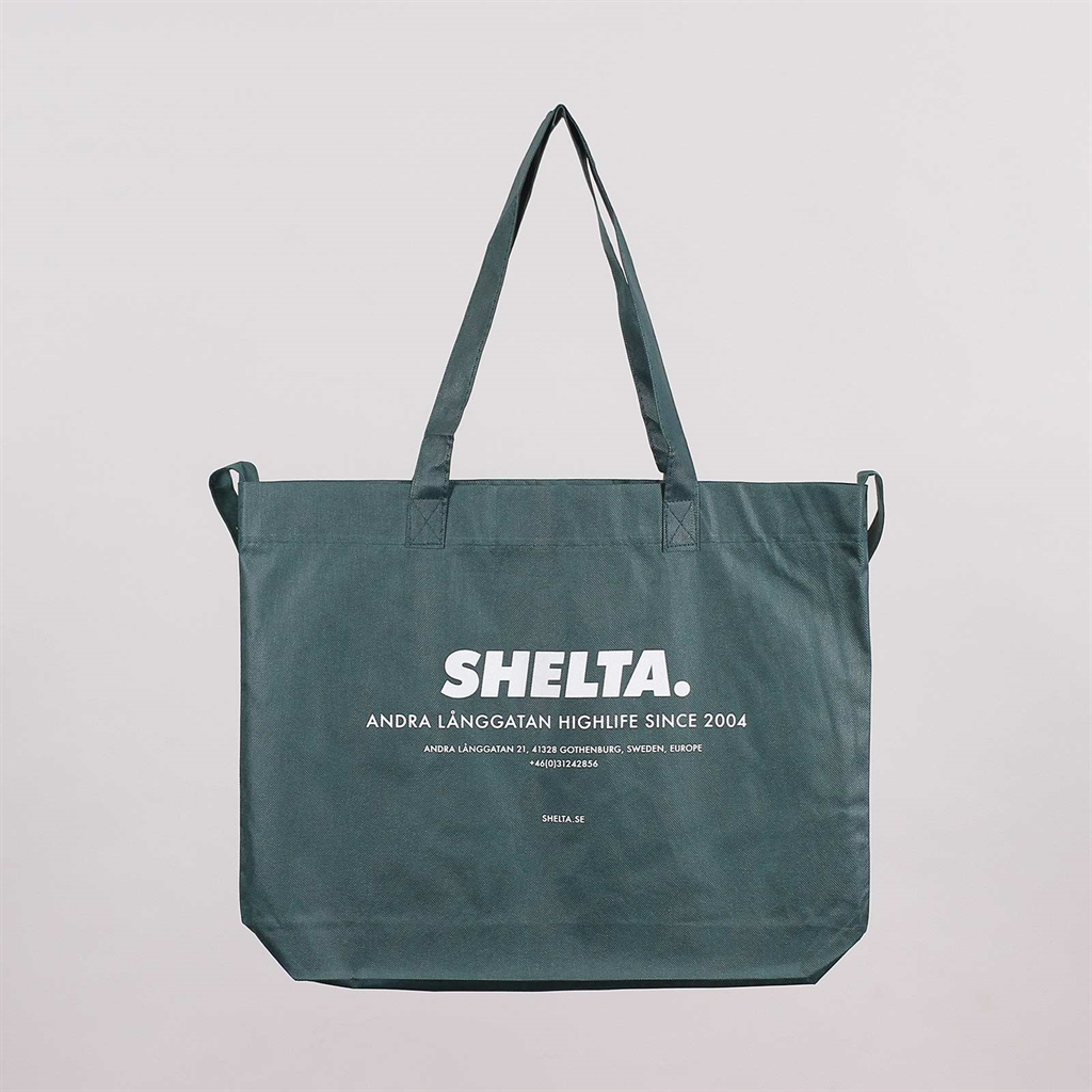 Shelta Recycled Shopping Bag Forrest Green (SHENW-GRN)