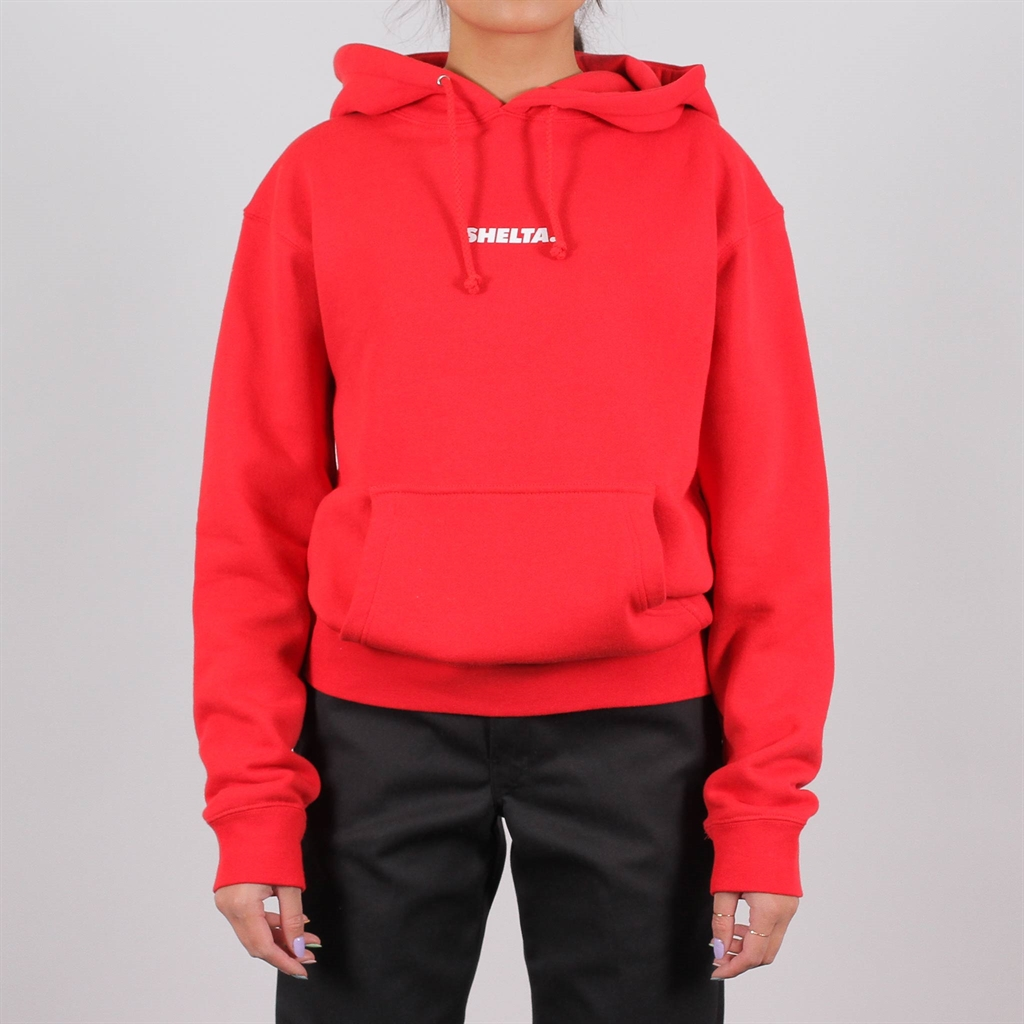 Shelta Unboxed Logo Hoodie Red (SHEUBH-RED)