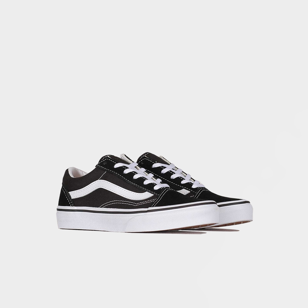 Vans Children Youth Old Skool Black/White  (VN000W9T6BT1)