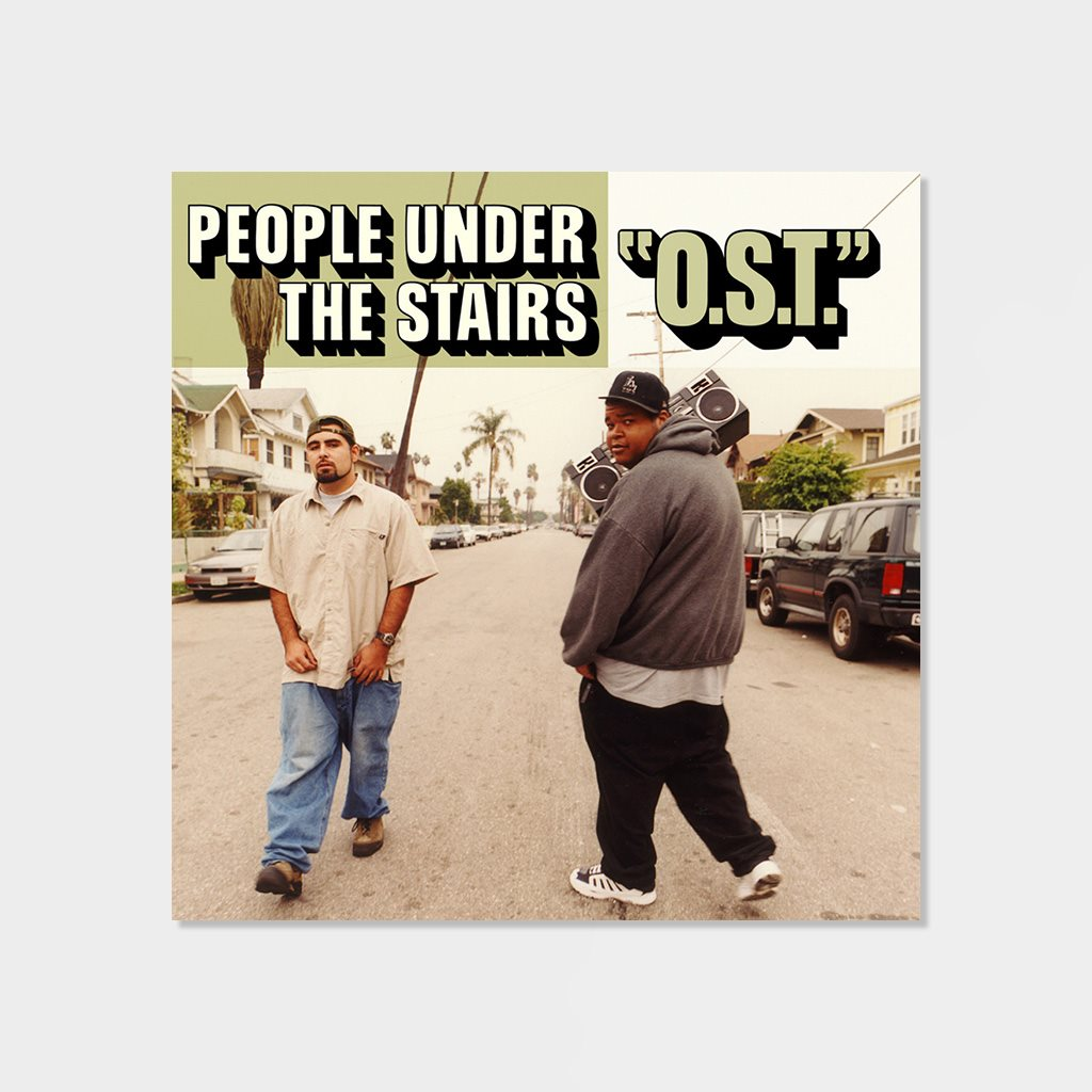 People Under The Stairs O.S.T. LP Vinyl (1A3323)