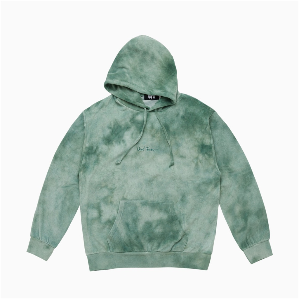 Used Future Juicy Tie Dye Hoodie Green (HD101-GRN)