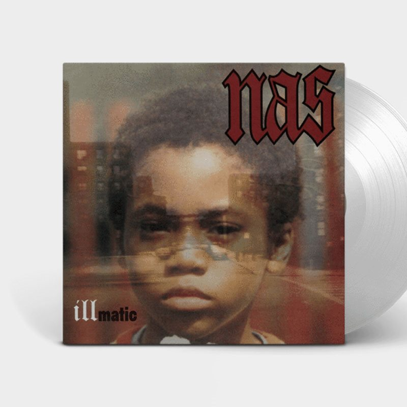 Nas Illmatic Limited Edition Clear Vinyl LP (3A0862)