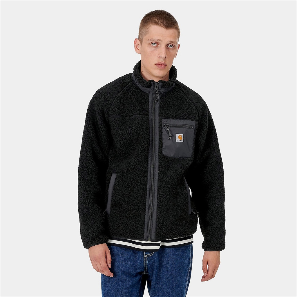 Carhartt WIP Prentis Liner Fleece Jacket Black (25120-BLK)