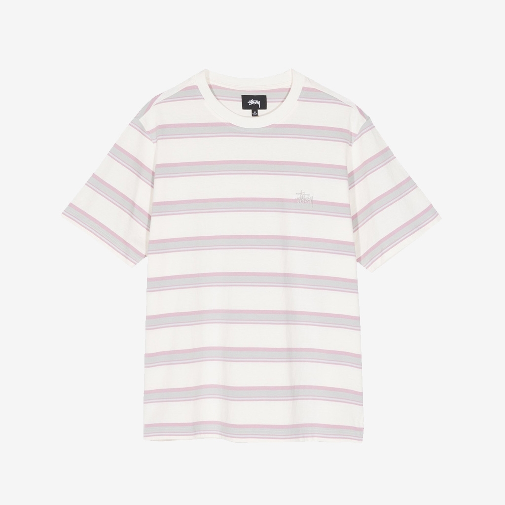 Stussy Harbour Stripe Crew Natural (1140200-NAT)
