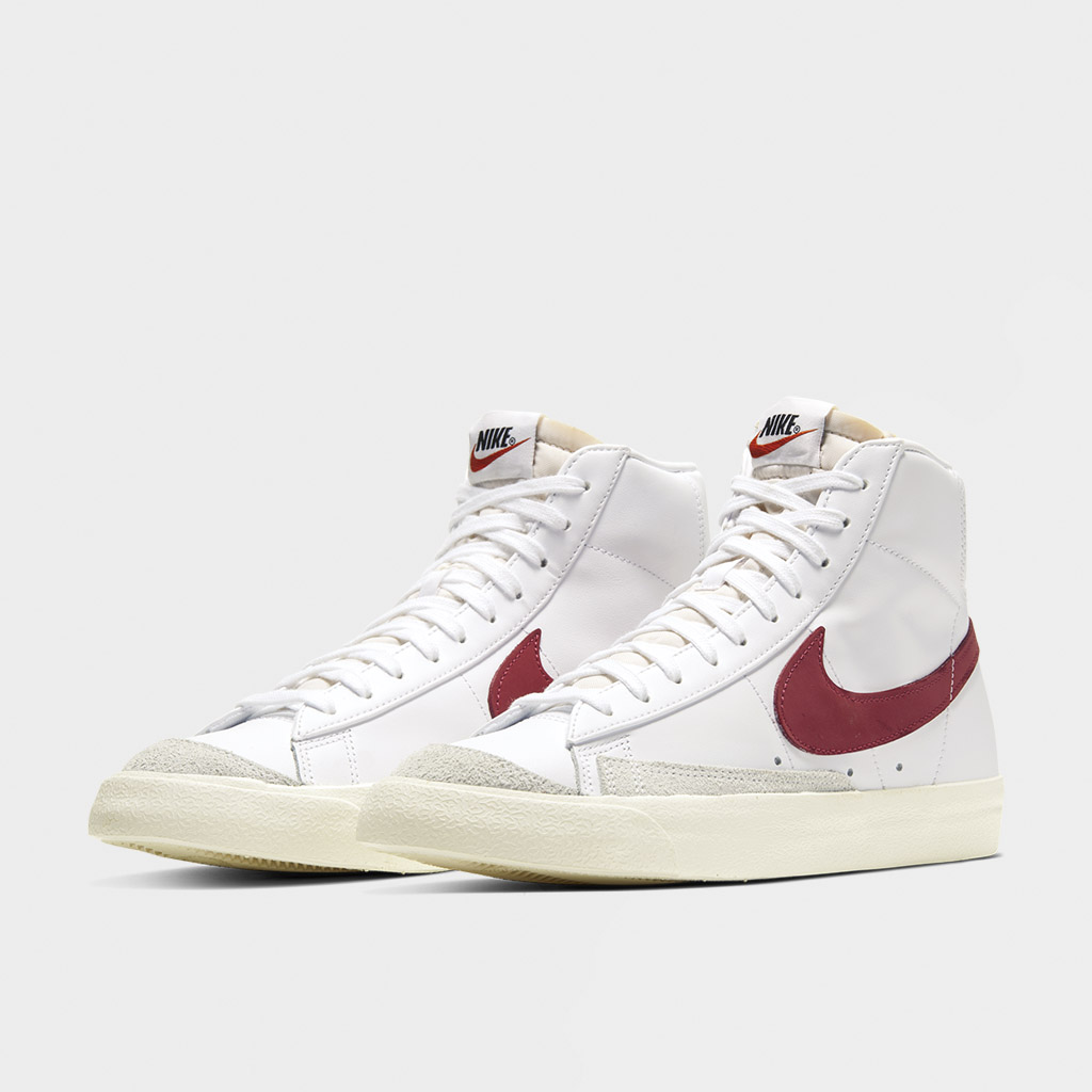 Nike Blazer Mid 77 Vintage White Red (BQ6806 102)