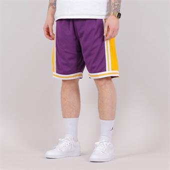 on sale fb26a dc19d Mitchell   Ness NBA Swingman Shorts LA Lakers