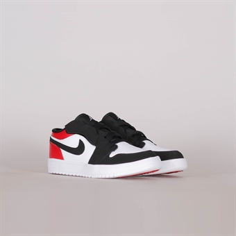 huge discount 2222c d76ff Nike Air Jordan 1 Low Pre-School Black Toe
